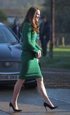 The Duchess of Cambridge and the first daughter step out in style