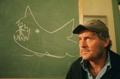 """Robert Shaw as Captain Quint in """"Jaws"""""""