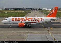 G-EZFO - EasyJet - Airbus A319-111