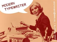 Image for MODERN TYPEWRITER font