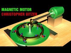 Free Energy Generator 2017, Christopher Gitzen Magnetic Motor!!!! - YouTube