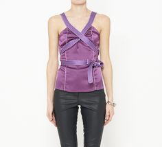 Proenza Schouler Purple And Lavender Top
