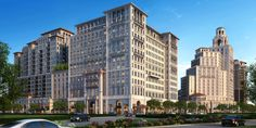 Rendering of the planned Mediterranean Village at Ponce Circle