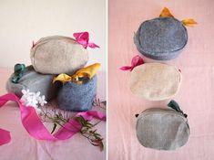 little pouches tutorial (bridesmaid kits!)