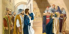 The Jews are offended when Jesus calls God his Father. Jesus explains the vital role his Father has given him in bringing the dead to life. Jw Bible, Bible Scriptures, Jesus In The Temple, Islamic Paintings, Spiritual Thoughts, Jehovah's Witnesses, Bible Stories, Sabbath, New Testament