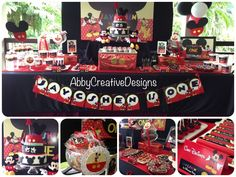 mickey mouse birthday party ideas | Mickey Mouse 1st Birthday Party! | Abby Creative Designs by Abby Sue