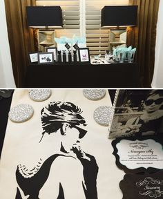 ; Glam Audrey Hepburn Inspired Party< SWOON, I really think this is such a cute idea, I love this!