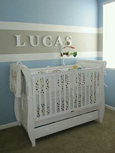 Baby Boy Room Ideas - Designing a boy nursery seems to be an overwhelming task. When you choose the best baby boy room ideas, multiple color Baby Bedroom, Baby Boy Rooms, Baby Boy Nurseries, Nursery Room, Kids Bedroom, Nursery Decor, Baby Nursery Ideas For Boy, Baby Cribs, Blue Nursery Ideas
