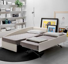 Rango single bed with guest bed - DIOTTI.COM