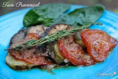 This is a classic provençal dish. It's very simple but what makes it so delicious is the full wholesome flavors of these vegetables slowly roasting in the oven with a good extra virgin olive oil. It always amazes me what a hit this always is with my guests!!