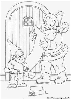 Natal - imagens para colorir http://www.pinterest.com/beteramos/natal/ ...