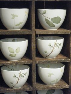 Japanese tea bowls