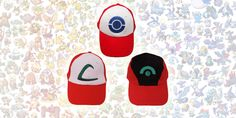 Pokémon hat collection – Japanese Gifts USA