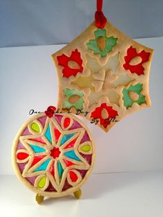 Stained Glass Cookie Ornament