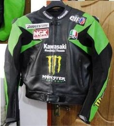MOTORCYCLE / MOTORBIKE LEATHER JACKET OF ALL BRANDS Six Matching Color Jackets #Handmade