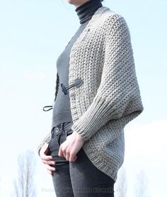 """#Crochet Pattern: Cardigan """"Companion"""", Size 36-46 https://www.crazypatterns.net/en/items/15525/crochet-pattern-cardigan-companion-size-36-46"""