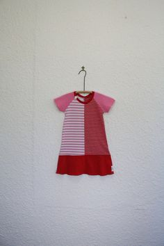 Upcycled T Shirt Dress Girl's Size 4 Tshirt by cynthiamadeforkids