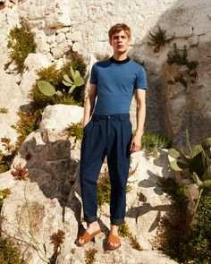 For refined summer in the city dressing, pack relaxed shirts, tailored shorts and smart tees.