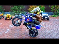 BAD BABY Unboxing And Assembling The Cross Bike - Ride On Mini Pocket POWER WHEEL Cross Bike - YouTube