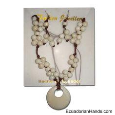 1st class Beaded Tagua Jewelry, Assorted, Dozen | Flickr – Compartilhamento de fotos!