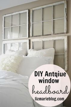 25 Awesome DIY Ideas and Tutorials to Repurpose Old Windows
