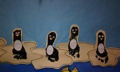 Footprint Penguins!  Hopes & Dreams Preschool  www.hopesanddreamspreschool.com