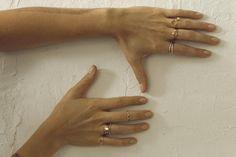 Delicate Rings from Mociun in Brooklyn