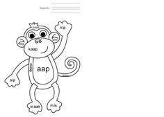 Maak het woordje met je klikklakboekje, daarna mag je het kleuren op je blad. Kim-versie Kern 1 AAP Daily Five, Mini, Classroom, Teaching, Fictional Characters, Images, Kindergarten Lesson Plans, Search, Class Room