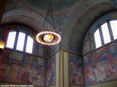 Los Angeles Library (mediterranean revival) by Bertram G Goodhue, California