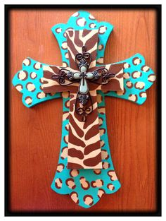Hand painted cross. If u would like to purchase 1 email me at mistyashley@aol.com Thank u!