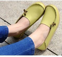 Cheap shoe candy shoes, Buy Quality shoes stiletto directly from China shoe form Suppliers: Free Shipping Women Shoes Four Seasons 2015 Women genuine leather shoes woman flats sweet casual all-match mother walk s