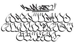"Graffiti Alphabet : Letters A-Z ""Water Drop copy"" Graffiti Lettering Alphabet, Chicano Lettering, Tattoo Lettering Fonts, Graffiti Font, Graffiti Drawing, Graffiti Painting, Graffiti Murals, Alphabet Letters, Best Graffiti"