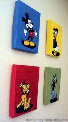 Kids room wall art | Craftionary