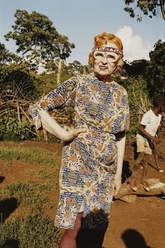 The Vivienne Westwood Ethical Fashion Africa Line is Revolutionary #ecofriendly #fashion trendhunter.com