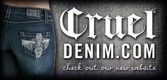 Cruel Girl Jeans  --  crueldenim.com