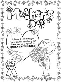 Mother's Day Writing And Fun Activities - 61 PAGES | TpT