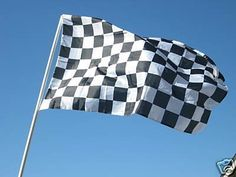 Checkered Flag 3x5 3 x 5 Brand NEW Racing Black & White by NEOPlex. Save 75 Off!. $4.99. 2 brass grommets firmly attached to heavy canvas on inner fly side. Easy flag pole attachment. Super polyester for long lasting durability. Vivid graphics & colors. Color fast to reduce fading. This 3 x 5 foot novelty message flag is made from super polyester that is durable, yet lightweight enough to fly in even the lightest breeze. It has 2 brass grommets firmly attached to heavy canvas on the in...