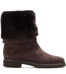 Loro Piana - Abigail suede boots with fur - mytheresa.com GmbH