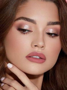 Classy Makeup, Glam Makeup, Simple Makeup, Makeup Inspo, Makeup Inspiration, Hair Makeup, Makeup Ideas, Makeup Tips, Minimal Makeup