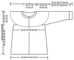 Jacke mit Rundpasse, mehrfarbigem Norwegermuster und A-Schnitt, gestrickt von oben nach unten. Größe S - XXXL. Die Arbeit wird gestrickt in DROPS Karisma.