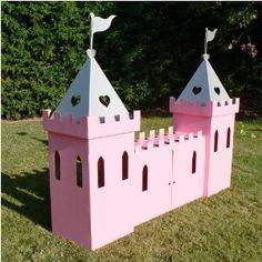 princess castle playhouse plans