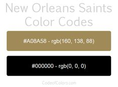 Team Colors of the Oakland Raiders. Hexadecimal and RGB Codes for the Oakland Raiders Logo. Hex and RGB Color Palette Schemes for the Oakland Raiders Jerseys. What colors are the Oakland Raiders?