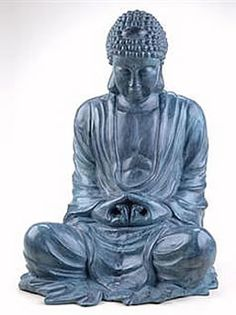 Garden Buddha, Large, Oriental-Sculptures-Statues, Statuary available at AllSculptures.com
