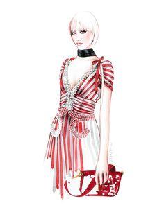 I LOVE ILLUSTRATION     illustration inspiration Watercolor Fashion 2911f4eac