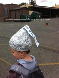 how to make a hershey kiss hat with foil