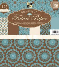wish list: DCWV 12''x12'' Premium Stack-Blue Floral Stack: paper: scrapbooking: Shop | Joann.com