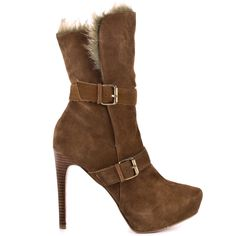 Candace - Camel Suede  Paris Hilton $111.99 OMG hurry up winter i want these boots LOL!!!