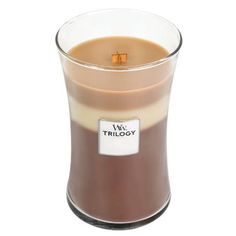 WoodWick Trilogy 22 Oz. Candle - Spiced Confections