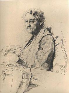 Pietro Annigoni - Academic drawing
