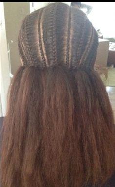 Eritrean braids/ habesha